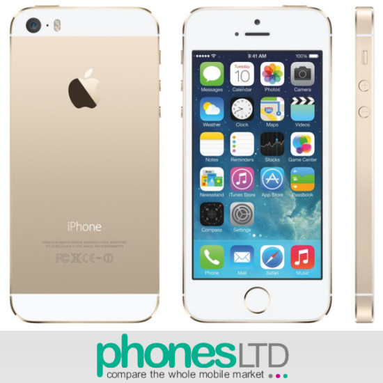 cheapest apple iphone 5s 16gb gold deals compare. Black Bedroom Furniture Sets. Home Design Ideas