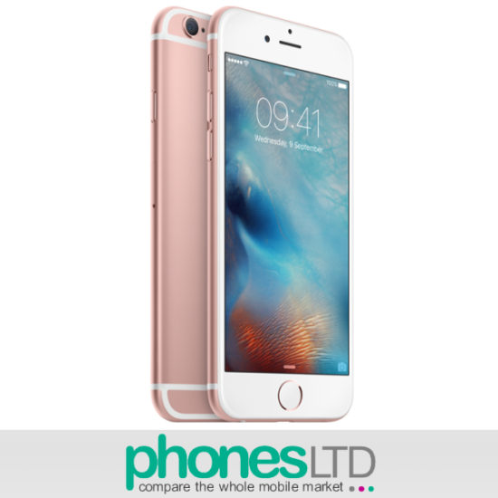 Iphone S Plus Rose Gold Giffgaff