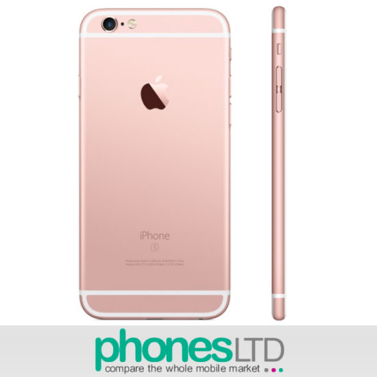 apple iphone 6s plus 128gb rose gold upgrade deals phones ltd. Black Bedroom Furniture Sets. Home Design Ideas