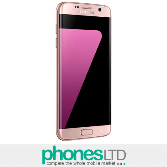 samsung galaxy s7 edge rose pink gold contracts upgrade prices phones ltd. Black Bedroom Furniture Sets. Home Design Ideas