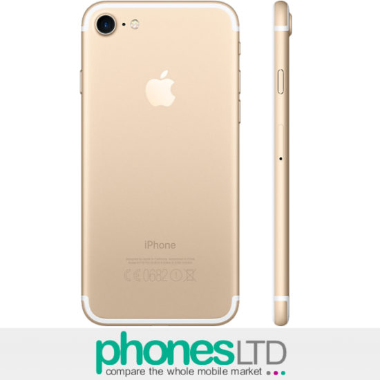 iphone 7 gold 256gb deals compare the cheapest contracts upgrade offers phones ltd. Black Bedroom Furniture Sets. Home Design Ideas