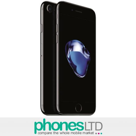 Iphone  Gb Jet Black Sim Free