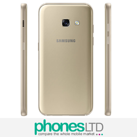 cheapest pay as you go samsung galaxy a3 2017 gold deals phones ltd. Black Bedroom Furniture Sets. Home Design Ideas