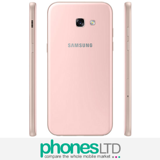 cheapest samsung galaxy a5 2017 peach cloud o2 upgrade unlimited 1gb at 26 24 prices. Black Bedroom Furniture Sets. Home Design Ideas