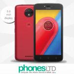 Motorola (Lenovo) MOTO C 16GB Metallic Cherry Red cheapest deals