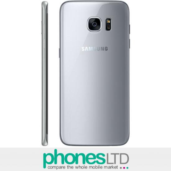 Samsung Galaxy S7 Edge Silver Titanium Contracts & Upgrade