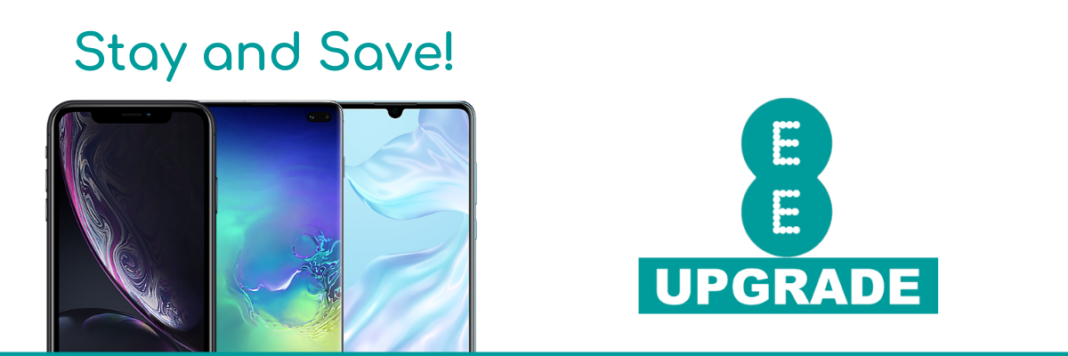 Lowest UK prices for EE Upgrade deals