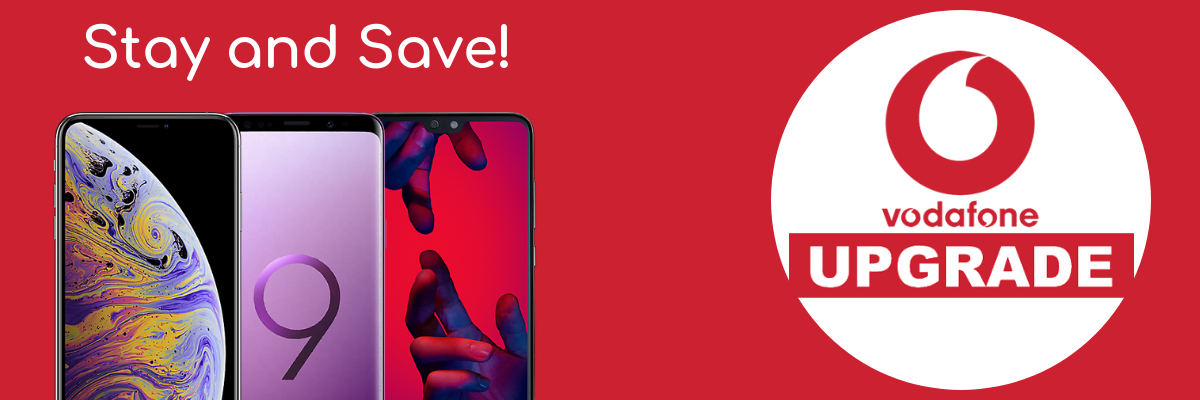 Cheapest Vodafone upgrade deals