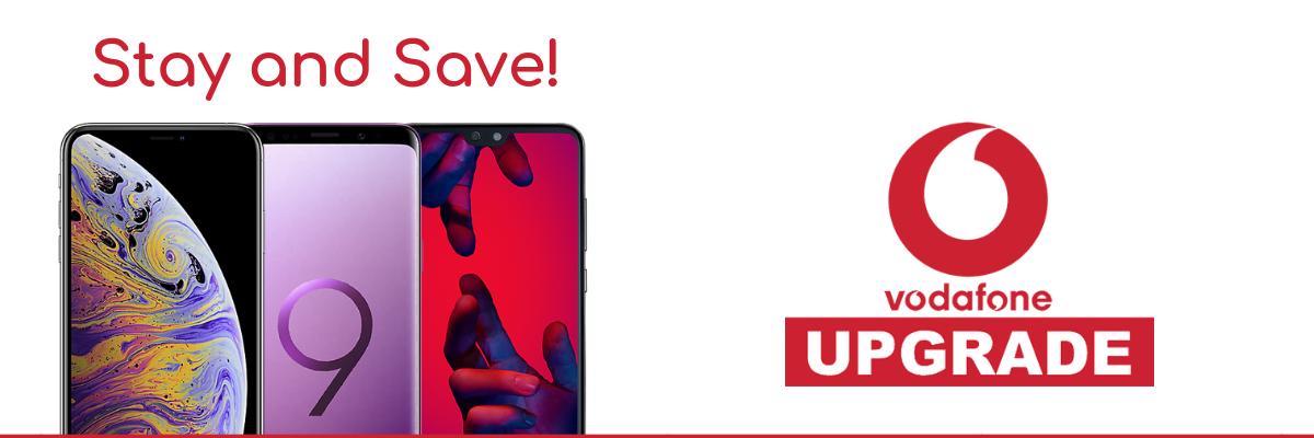 Compare the cheapest Vodafone upgrade deals