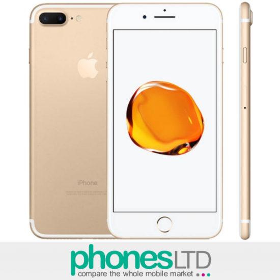 Compare Ee Apple Iphone 7 Plus 32gb Gold Deals Phones Ltd
