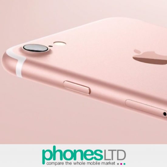 Iphone 7 Rose Gold 128gb Deals Compare Uk Prices For