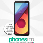 LG Q6 32GB Astro Black upgrade deals