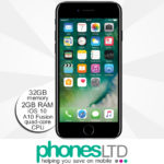 iPhone 7 32GB Jet Black upgrade deals