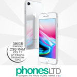 iPhone 8 256GB Silver upgrade deals