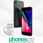 iPhone 8 256GB Space Grey upgrade deals