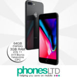 iPhone 8 Plus 64GB Space Grey upgrade deals
