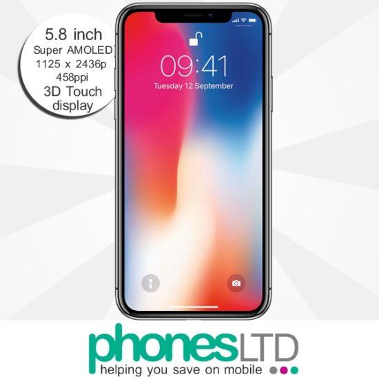 wholesale dealer 84940 ea2bf Compare Apple iPhone X 64GB Sky Mobile Deals - Phones LTD