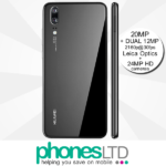 Huawei P20 Black contracts