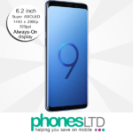Samsung Galaxy S9+ (S9 Plus) 128GB Coral Blue deals