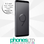 Samsung Galaxy S9+ (S9 Plus) 128GB Midnight Black deals