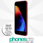 iPhone 8 256GB (PRODUCT)RED™ upgrades