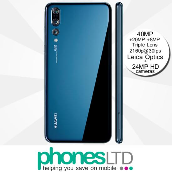 Compare Huawei P20 Pro Blue EE Upgrade Deals - Phones LTD