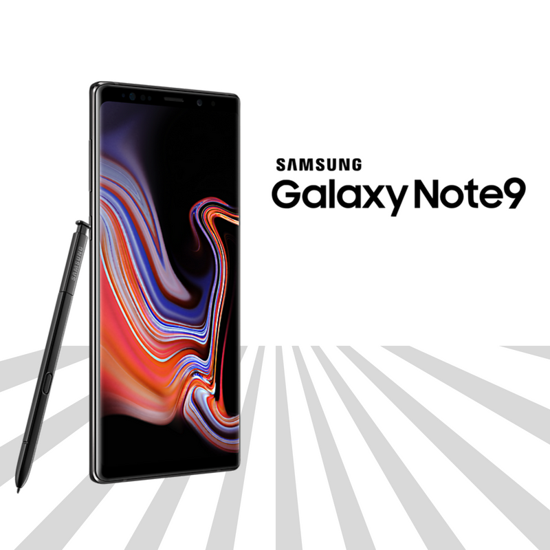 Midnight Black Samsung Galaxy Note9