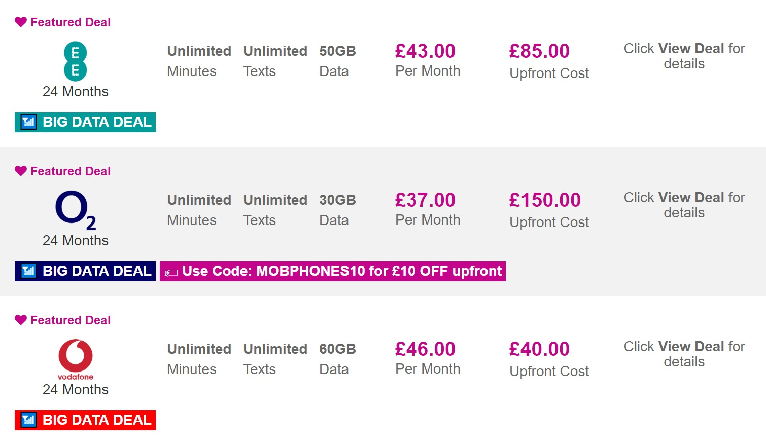 iPhone X best UK contracts and upgrade offers