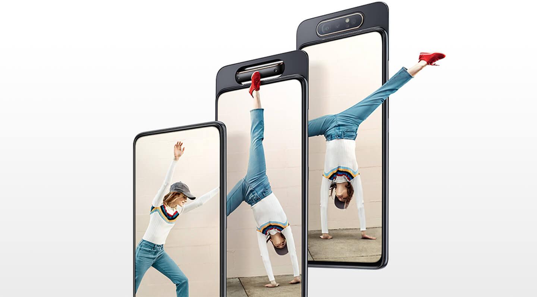 Samsung A80 rotating camera