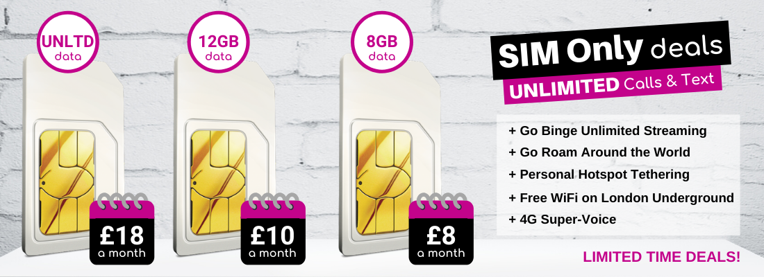 Best 3 Sim Only Deals Exclusive 8gb 12gb And Unlimited Data Sim Card Offers Phones Ltd