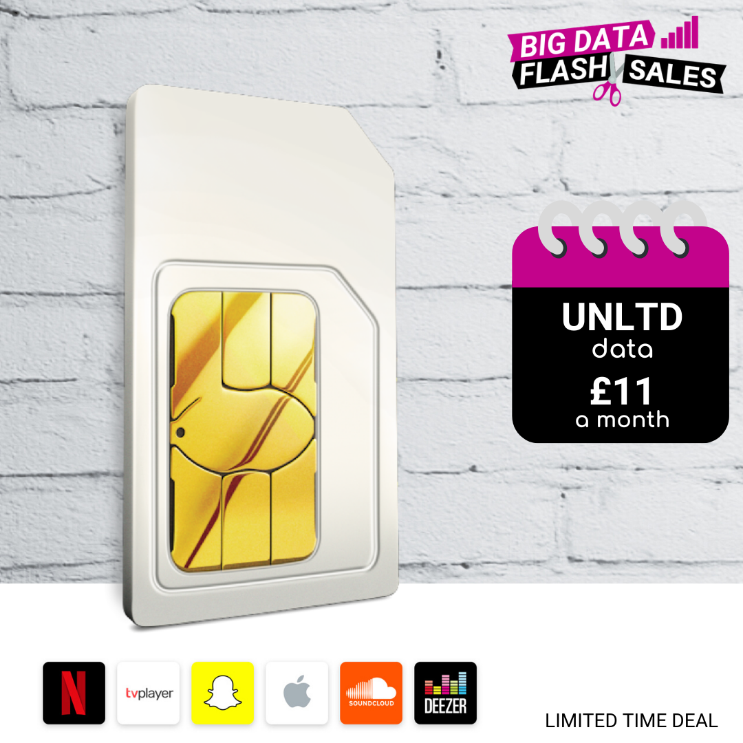 Cheapest SIM Only Deals offering unlimited data, calls and text