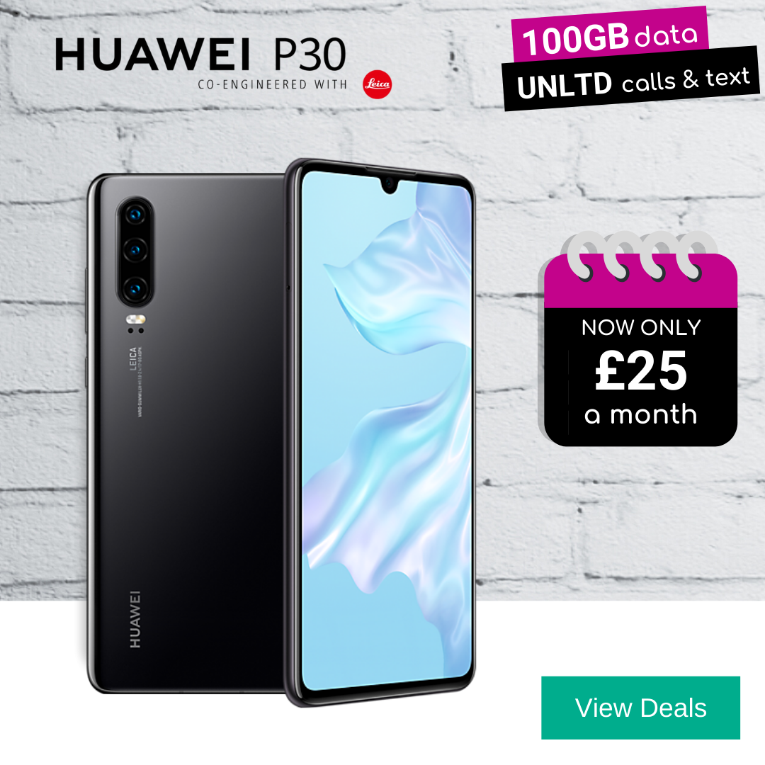 Best deals for Huawei P30 128GB