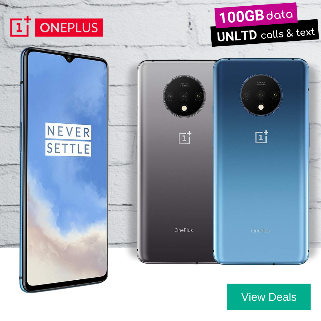 Best deals for OnePlus 7T 128GB Blue and Silver