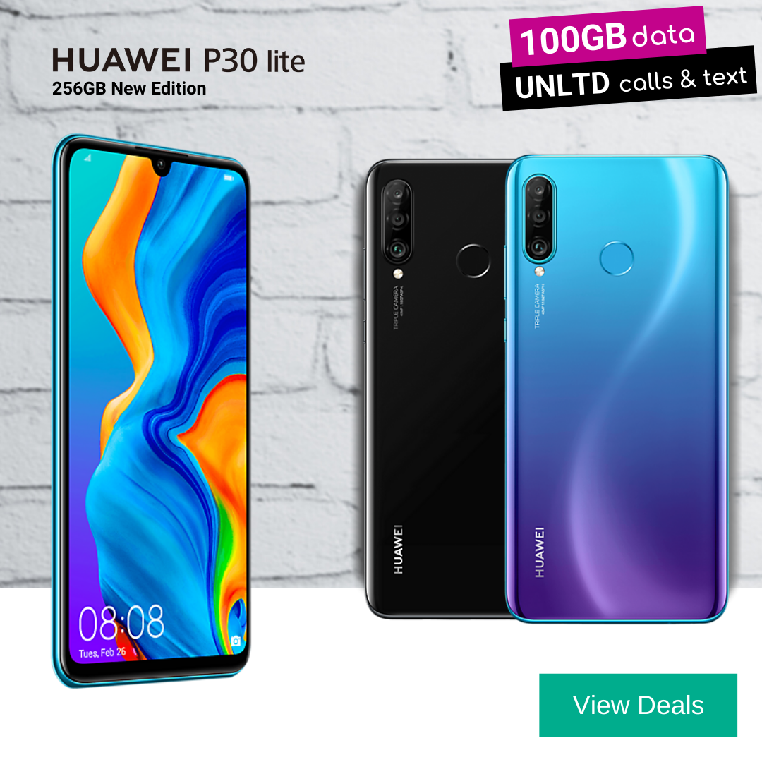 Huawei P30 Lite 256GB New Edition deals
