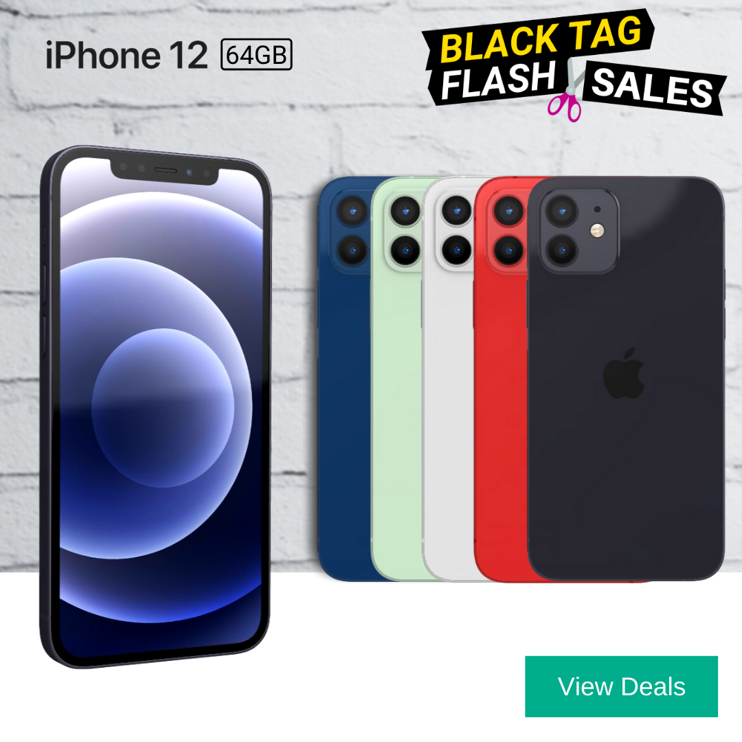 iPhone 12 Black Friday Deals with Unlimited Data