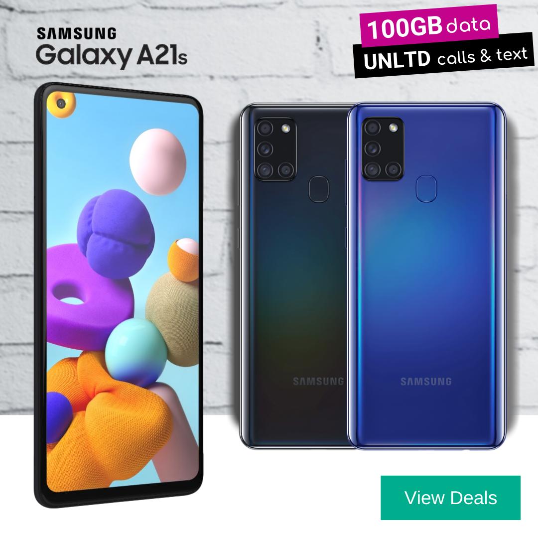 Samsung A21s deals