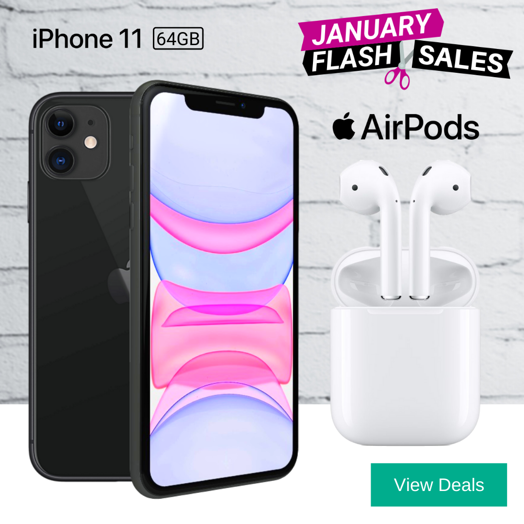 Apple AirPods + iPhone 11 Deals