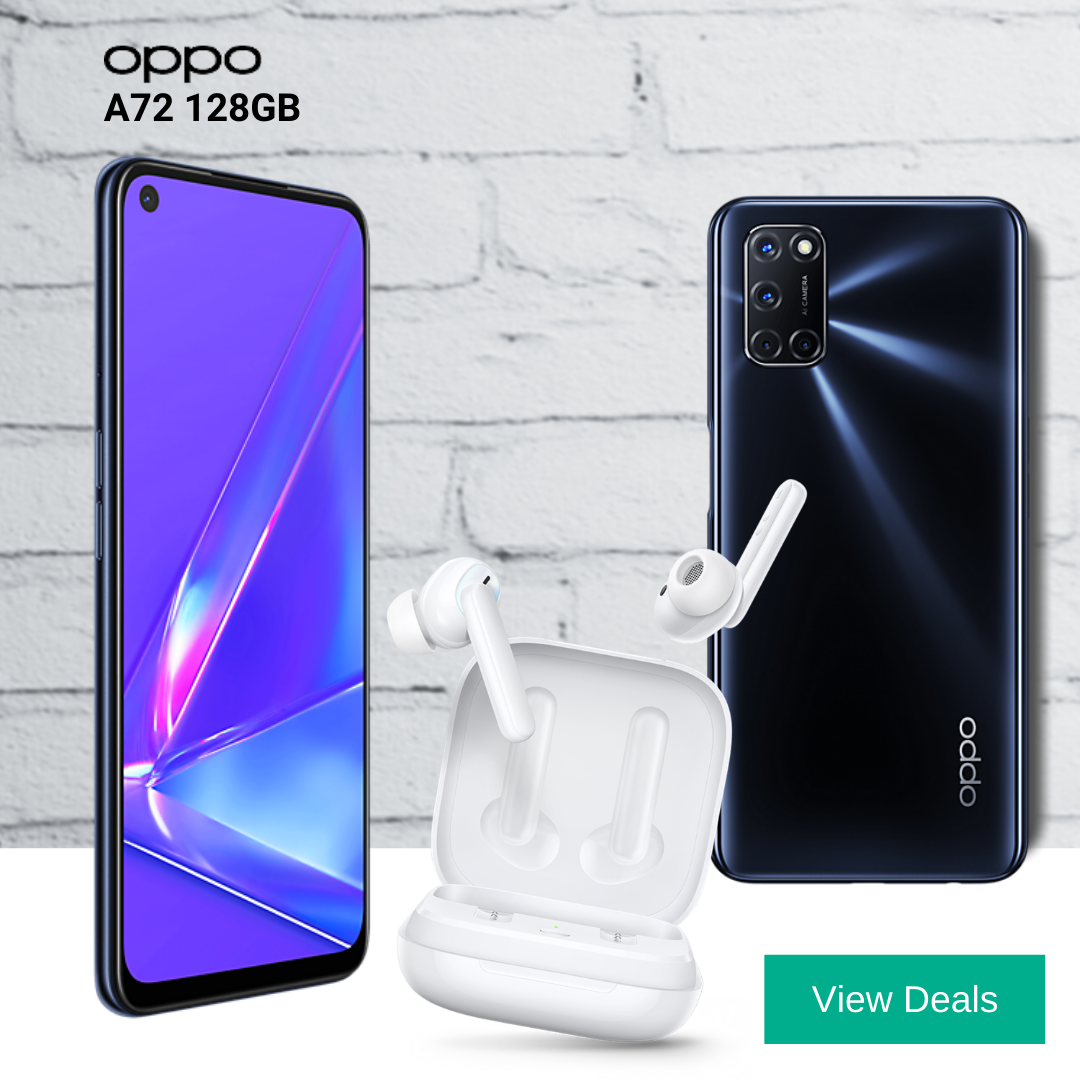 Free Oppo Enco W51 earphones with Oppo A72 contract deals