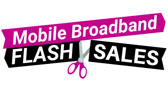 Flash Sale Cheapest Deals for Unlimited Mobile Broadband