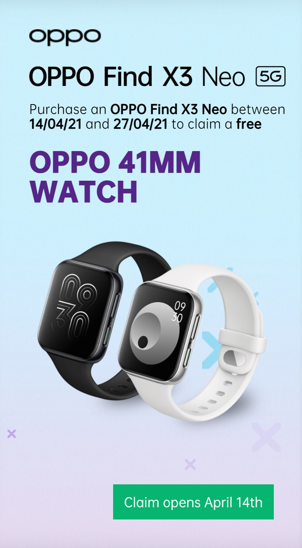 Free Oppo Smart Watch