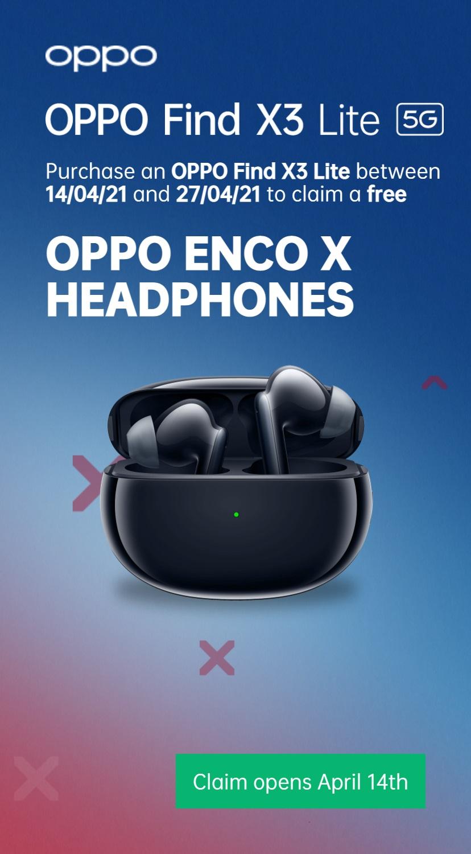 Free Oppo Enco X Earphones