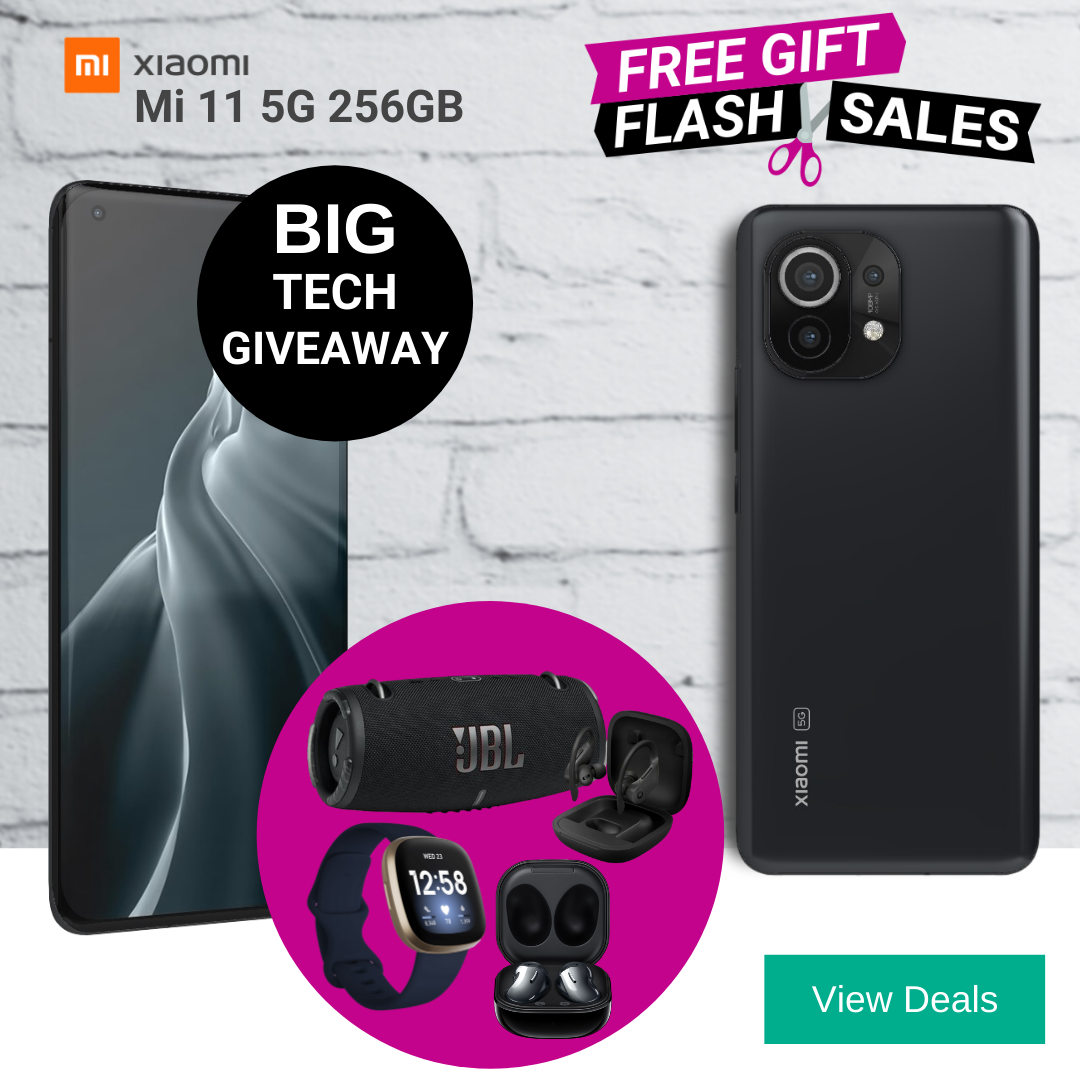 Three Unlimited Data Deals for Xiaomi Mi 11 5G with Free Gifts