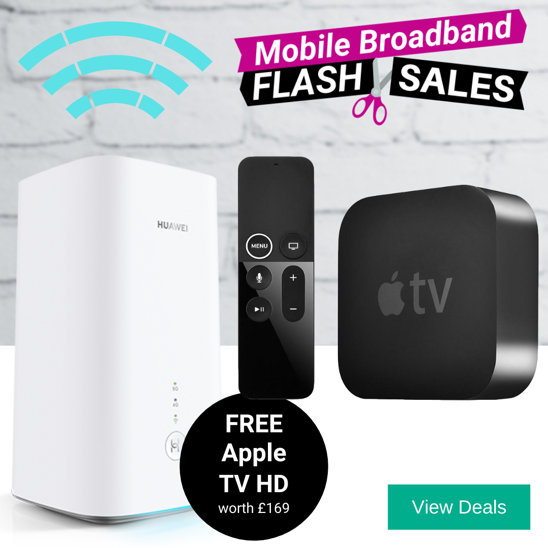 5G Broadband Router Deals with Free Apple TV HD 4K and Apple TV+ for 1 Year