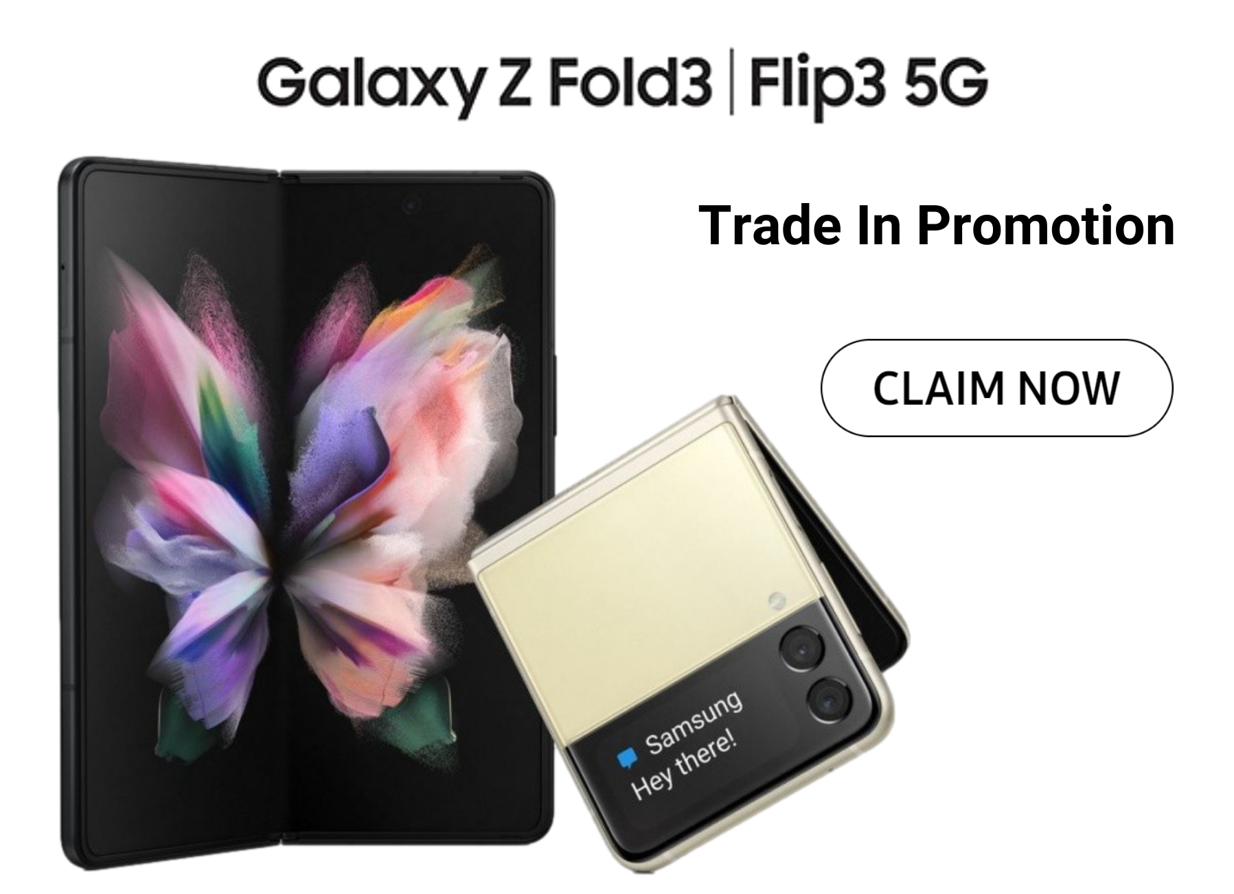 £250 Extra Trade in Bonus with Samsung Z Fold3 and Z Flip3 deals