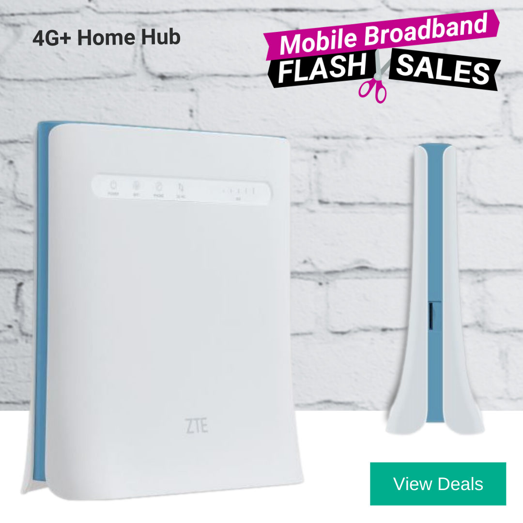 Best 4G Home Broadband Deals - Unlimited 4G Plans